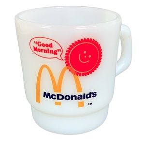 MC DONALDS Vintage Anchor Hocking Fire King Cup